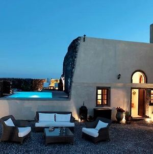 Super Luxury Santorini Villa Mansion Kyani Private Pool 3 Bdr Megalochori photos Exterior