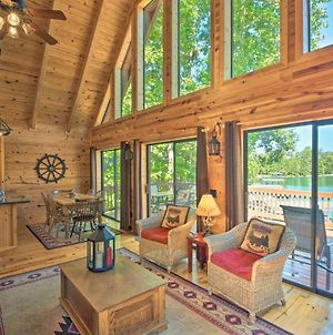 Serene Lakefront Retreat With Dock & Game Room! photos Exterior