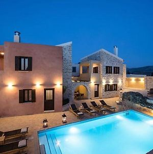 Deluxe Crete Villa Villa Phaistos 6 Bedroom 12 Guests Swimming Pool Sivas photos Exterior