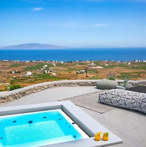Luxury Santorini Villa Villa Elysian Dyo Private Hot Tub Air Conditioning 1 Bedroom Oia photos Exterior