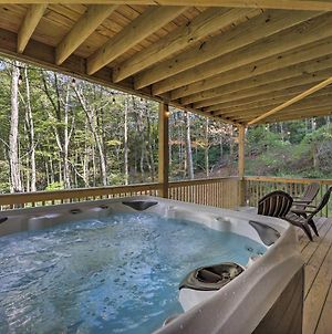 Treetop Cabin With Hot Tub, Near Appalachian Ski photos Exterior