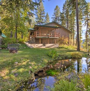 Secluded Forest Cabin With Whitefish Lake Views photos Exterior