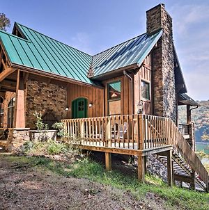 Expansive Norris Lake Cabin With Decks & Dock! photos Exterior