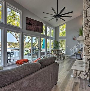 Bright & Modern Lake Home With Private Dock! photos Exterior