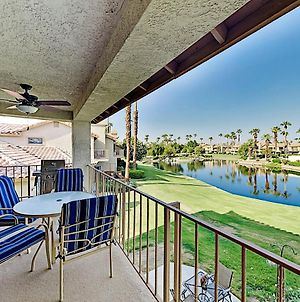 Luxe Retreat At Pga West With Lake Views & Pool Condo photos Exterior