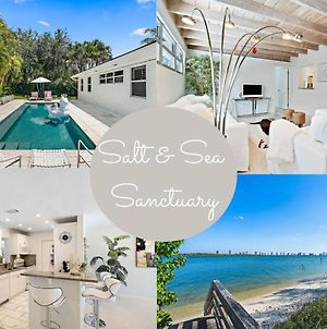 *Walk To Beach*Single Family Home*Private Salt Water Heated Pool* photos Exterior