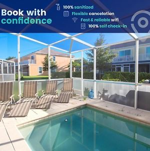 Home With Private Pool In Ecocommunity Near Disney photos Exterior