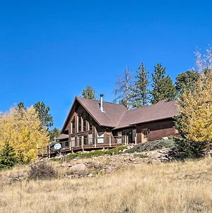 Mtn-View Cabin With Deck, 3 Mi To Cripple Creek! photos Exterior