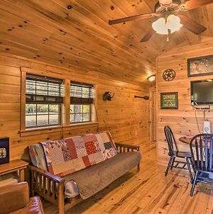 Rural Cabin Hideaway With Fire Pit And Mtn Views! photos Exterior