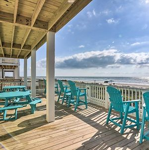 Beachfront Retreat With 2 Decks, Patio And Views! photos Exterior