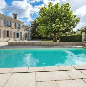 Villa With 4 Bedrooms In Saint Georges Du Bois With Private Pool Enclosed Garden And Wifi 30 Km From The Beach photos Exterior
