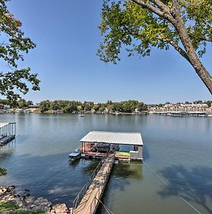 Bright And Modern Lake Home With Private Dock! photos Exterior