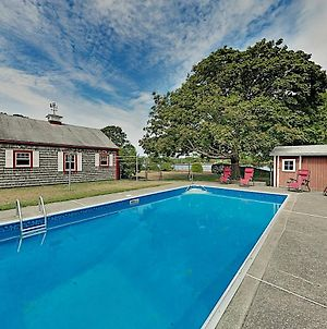 Private Pool On The Canal With Bourne Bridge View Home photos Exterior