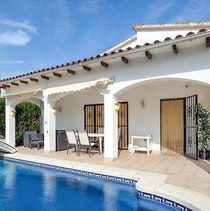 Villa With 3 Bedrooms In Castello D'Empuries With Wonderful Mountain View Private Pool Enclosed Garden 2 Km From The Beach photos Exterior
