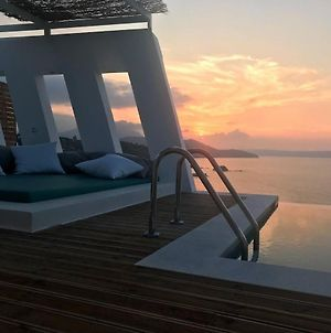 Luxury Villa Crete Villa Saphire 3 Bedroom Sea View Chania photos Exterior