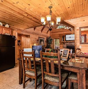 Log Cabin With Hot Tub! Caribou Canyon Lodge! photos Exterior