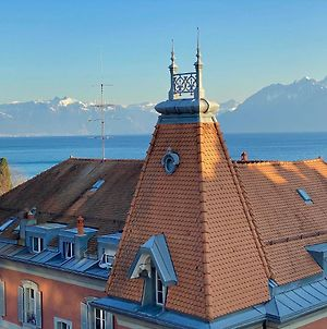 Lausanne Ouchy, Penthouse With Terrace And Breathtaking Views! photos Exterior