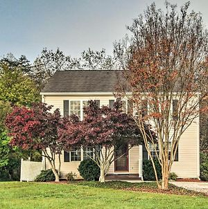 'Willow Bend' Quiet Lynchburg Home With Deck! photos Exterior