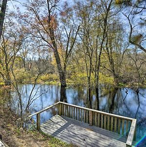 Mays Landing Riverfront Cabin With Deck & Grill! photos Exterior