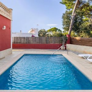 House With 3 Bedrooms In Llucmajor With Wonderful Sea View Private Pool Furnished Terrace 500 M From The Beach photos Exterior