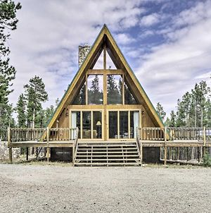 Cozy Fairplay A-Frame Cabin With Fire Pit And Loft photos Exterior