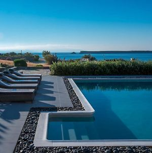 Luxury Paros Villas De Luxe Villa Sea View Private Pool 4 Bdr Tserdakia photos Exterior