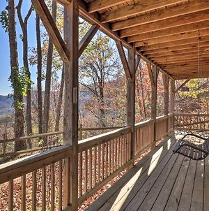 Cabin With Views & Fireplace, Near Smoky Mtns! photos Exterior