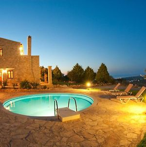 Exclusive Crete Villa Hill Top Villa Private Pool Stunning Views 3 Bdr Rethymno photos Exterior