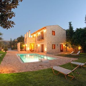 Exclusive Crete Villa Teachers Cottage Villa Private Pool Stunning View 3 Bdr Rethymno photos Exterior