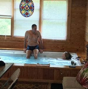 Private Log Cabin With Indoor Pool Sauna And Gym You Rent It All No One Else photos Exterior