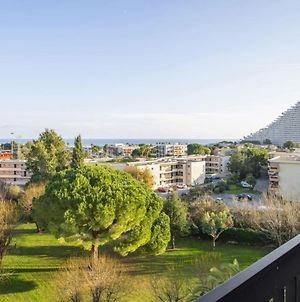 Flat W Terrace Parking And Beautiful View In Villeneuve-Loubet - Welkeys photos Exterior