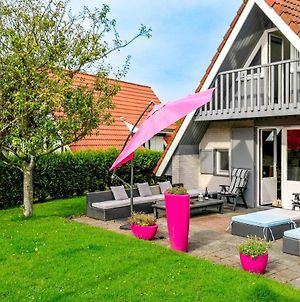 Joke Am Deich 6 Pers House With Equipped Terrace Behind A Dike At Lauwersmeer photos Exterior