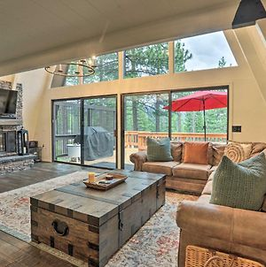 Luxe Lake Tahoe Cabin With Spacious Deck And Hot Tub! photos Exterior
