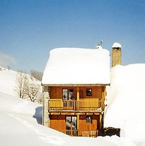 Charming Chalet In La Lechere French Alps With Balcony photos Exterior