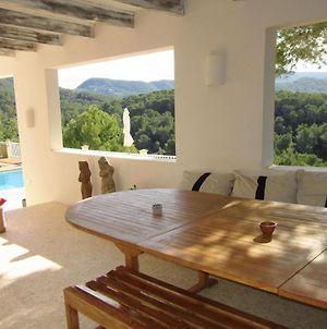 Beautiful Villa In Cala Tarida With Swimming Pool photos Exterior