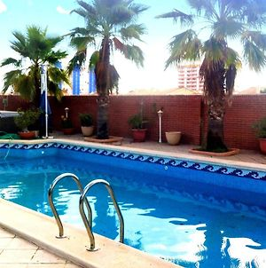 Villa With 4 Bedrooms In Playa Honda With Wonderful Mountain View Private Pool Enclosed Garden 300 M From The Beach photos Exterior
