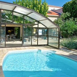 Apartment With 2 Bedrooms In Marseillan With Wonderful City View Shared Pool Furnished Garden 6 Km From The Beach photos Exterior