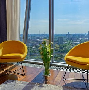 Skyrrent24 Moscow City Sunny Apartment Москва Сити photos Exterior
