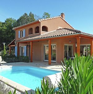 Modern Luxury Villa In Vallon-Pont-D'Arc With Swimming Pool photos Exterior