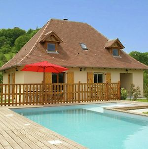 Modern Holiday Home With Private Pool In Loubressac France photos Exterior