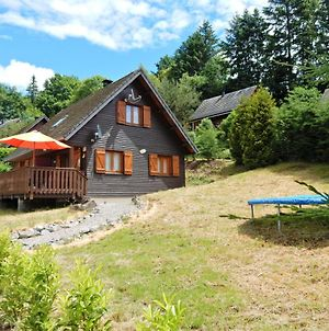 Peaceful Chalet In Beaulieu With Lake Nearby photos Exterior