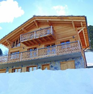 Chalet With Breathtaking Mountain View And Jacuzzi In Les Collons photos Exterior