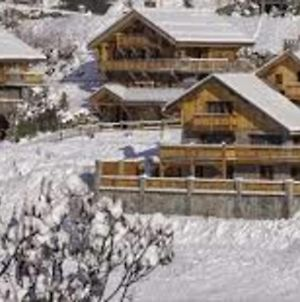 Magnificent Chalet With Jacuzzi Near Meribel photos Exterior