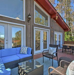 Remodeled Lakefront Retreat With Decks And Dock photos Exterior