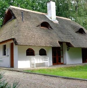Exclusive Thatched Roof House In The Samtgemeinde Uelsen With Conservatory photos Exterior