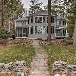 Luxury Escape On Lake Towamensing With Game Room! photos Exterior