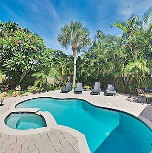 Steps To Beach! Heated Pool, Spa & Chef'S Kitchen Home photos Exterior