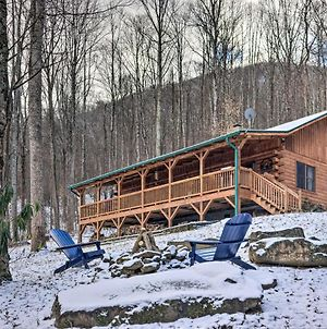 Secluded Mountain-View Cabin With Great Porch! photos Exterior