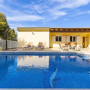 The Villa Located In Cala Vinyes, Has A Private Pool photos Exterior