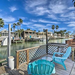 Waterfront Port Isabel Cottage With Boat Lift! photos Exterior